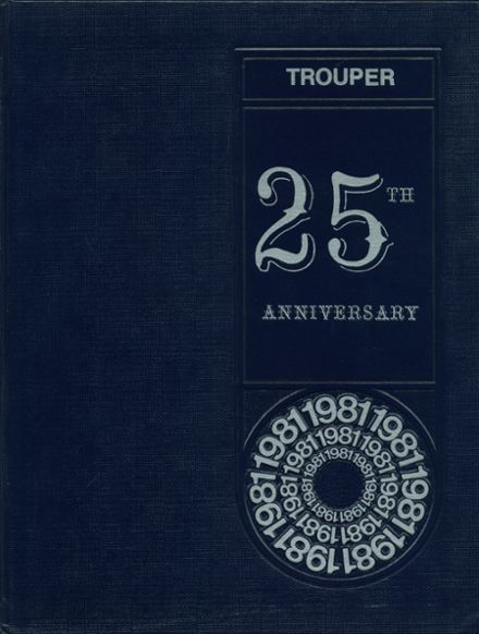 1981 Troup County Comprehensive High School Yearbook Cover