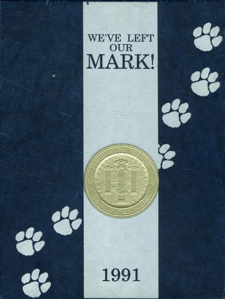 1991 Ionia High School Yearbook Cover
