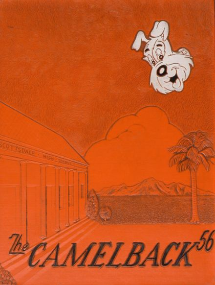 1956 Scottsdale High School Yearbook Cover