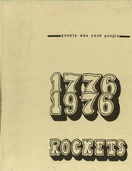 1976 Reeths-Puffer High School Yearbook Cover