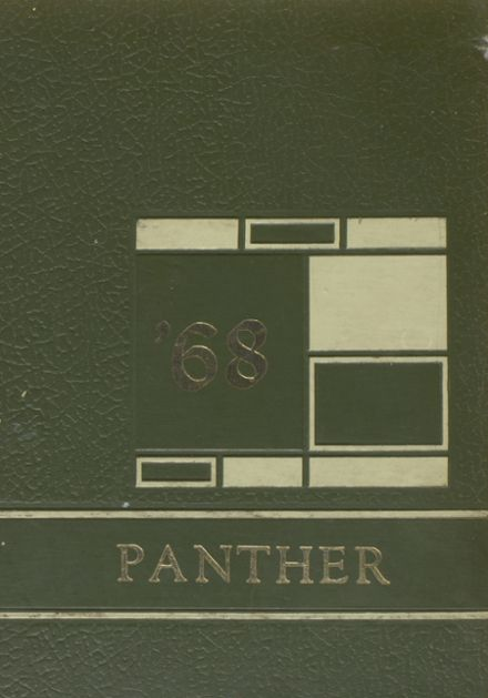 1968 Addison High School Yearbook Cover