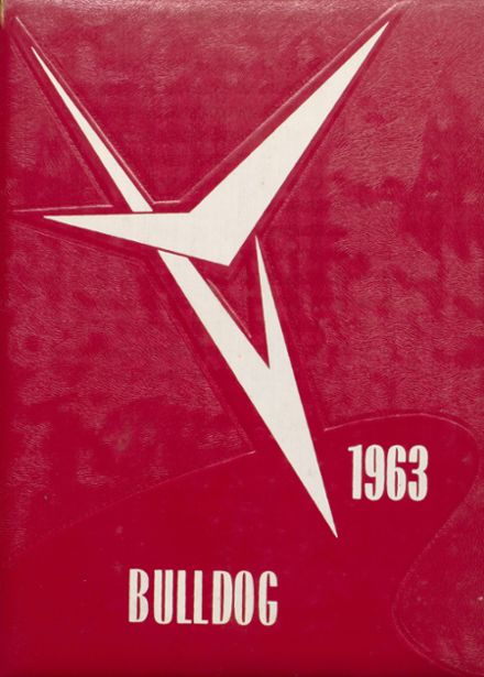 1963 Hi Plains High School Yearbook Cover