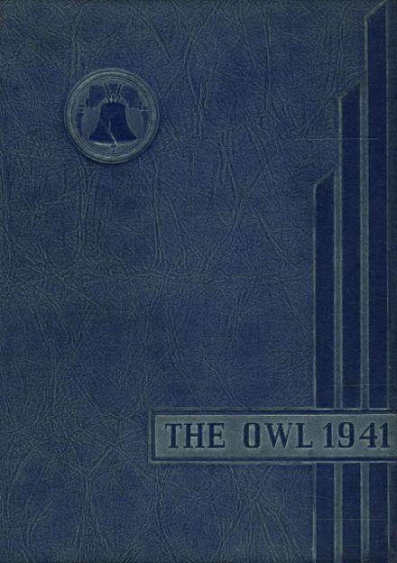 1941 Sharon Hill High School Yearbook Cover