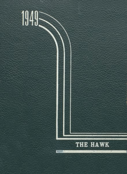 1949 Woodward Community High School Yearbook Cover
