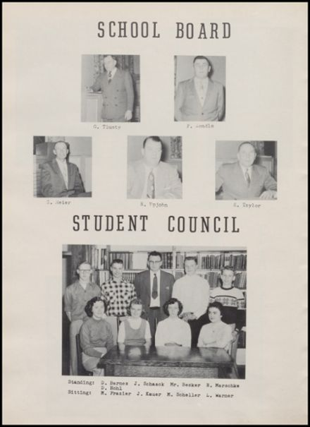 1957 Rib Lake High School Yearbook Page 8