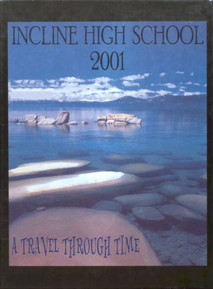 2001 Incline High School Yearbook Cover