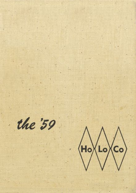 1959 Estherville High School Yearbook Cover