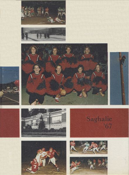 1967 Shelton High School Yearbook Cover