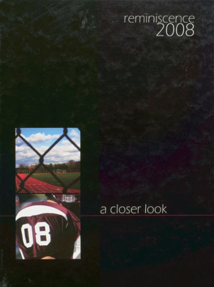 2008 Harrison High School Yearbook Cover
