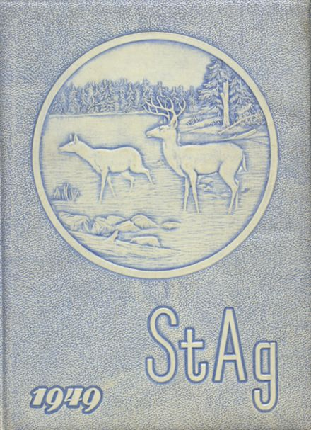 1949 St. Agnes Academy Yearbook Cover