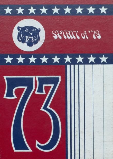 1973 Worth County R-III High School Yearbook Cover