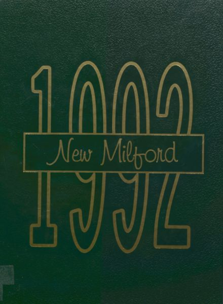 1992 New Milford High School Yearbook Cover