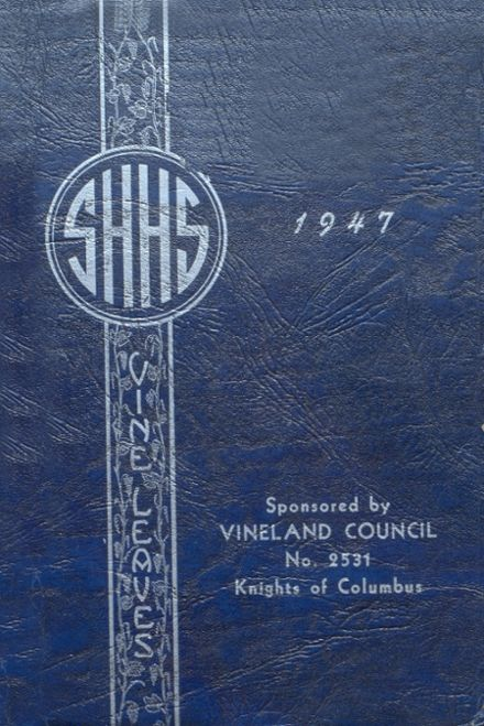 1947 Sacred Heart High School Yearbook Cover