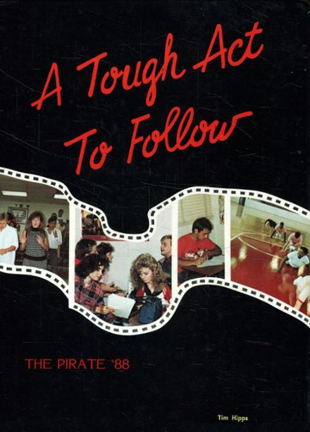 1988 Appling County High School Yearbook Cover