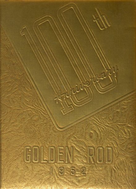 1952 Quincy High School Yearbook Cover