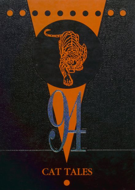1994 North Union High School Yearbook Cover