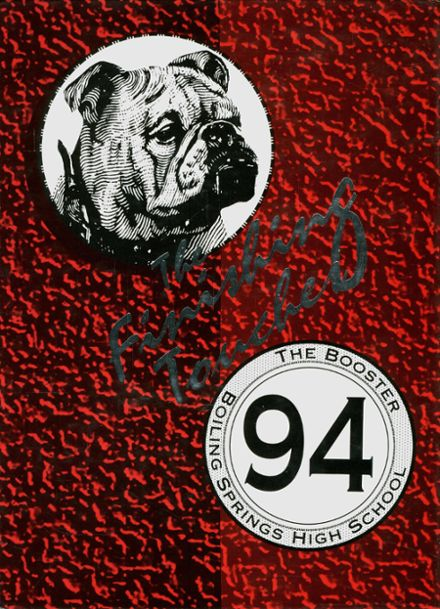 1994 Boiling Springs High School Yearbook Cover