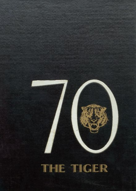 1970 Worth County R-III High School Yearbook Cover