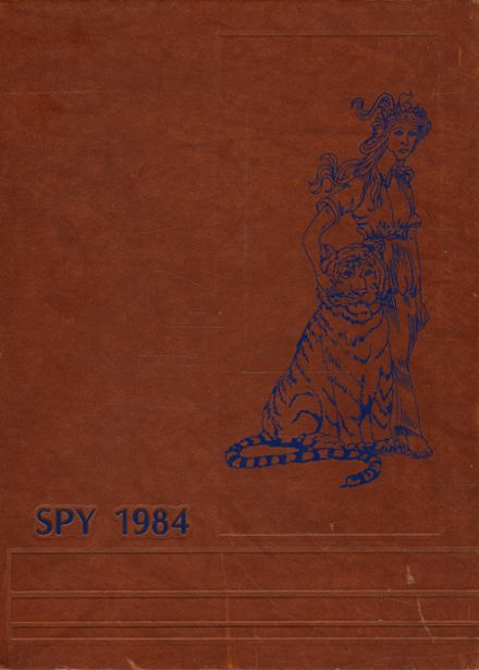 1984 Galion High School Yearbook Cover
