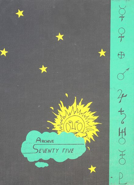 1975 Northern Lebanon High School Yearbook Cover