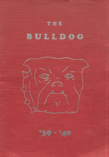 1940 Jay High School Yearbook Cover