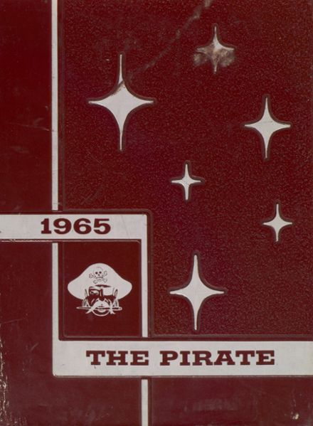 1965 Wylie High School Yearbook Cover