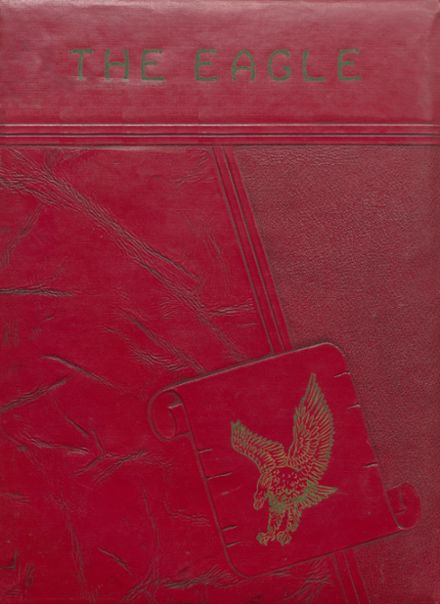 1951 Coldspring High School Yearbook Cover