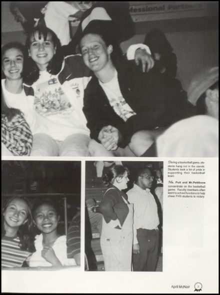 1998 Foley High School Yearbook Page 7