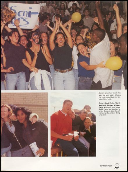 1998 Foley High School Yearbook Page 9