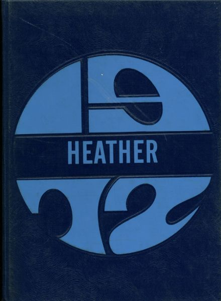 1972 Highland High School Yearbook Cover