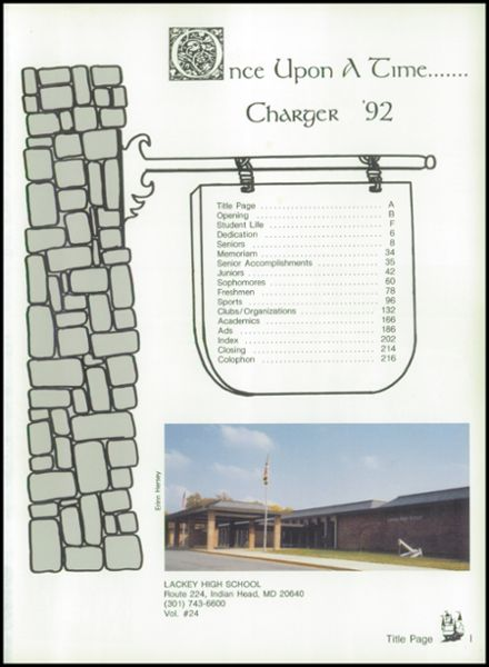 1992 Lackey High School Yearbook Page 5