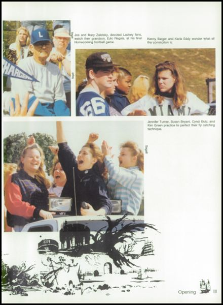 1992 Lackey High School Yearbook Page 7