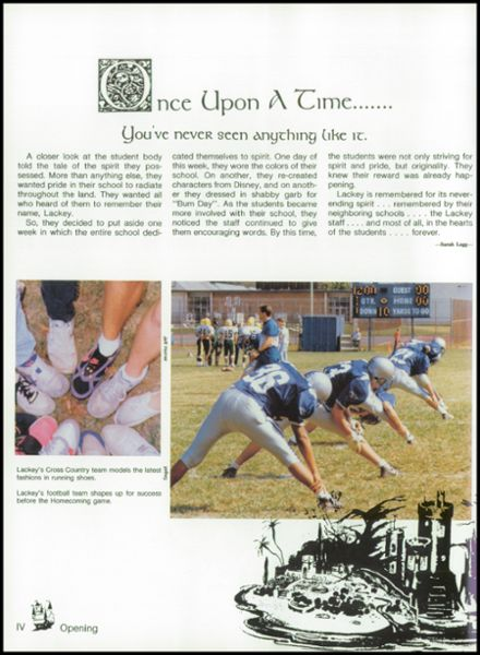 1992 Lackey High School Yearbook Page 8
