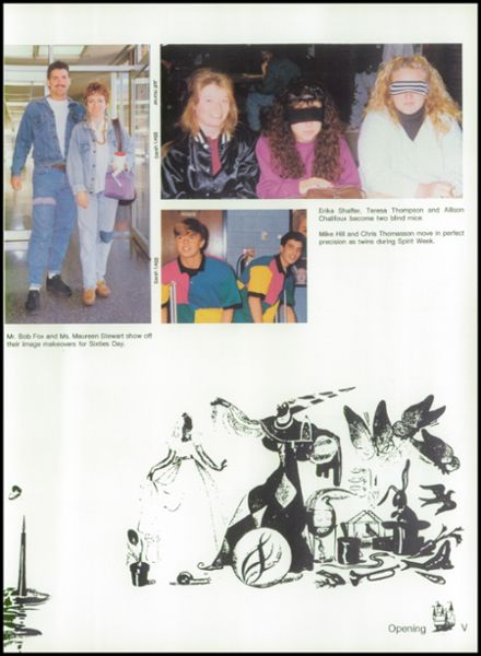 1992 Lackey High School Yearbook Page 9
