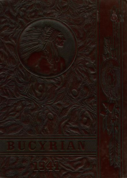 1941 Bucyrus High School Yearbook Cover