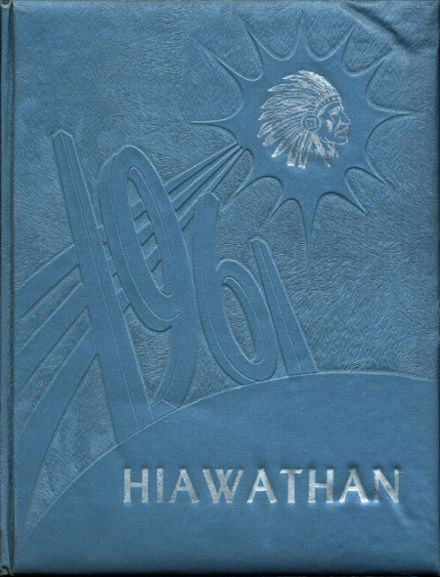 1961 Liverpool High School Yearbook Cover