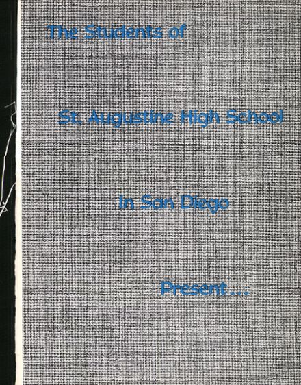 1962 St. Augustine High School Yearbook Page 5