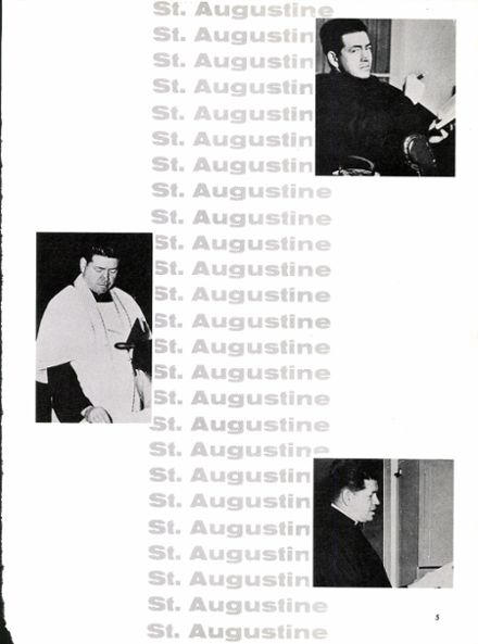 1962 St. Augustine High School Yearbook Page 9