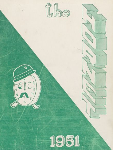 1951 Eureka High School Yearbook Cover
