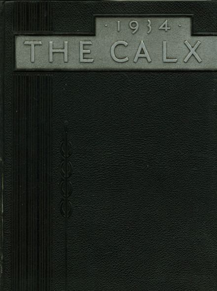 1934 Maysville High School Yearbook Cover