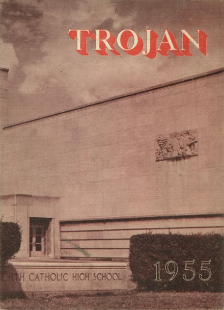 1955 North Catholic High School Yearbook Cover