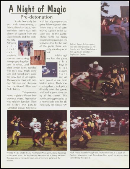 1999 Arlington High School Yearbook Page 8