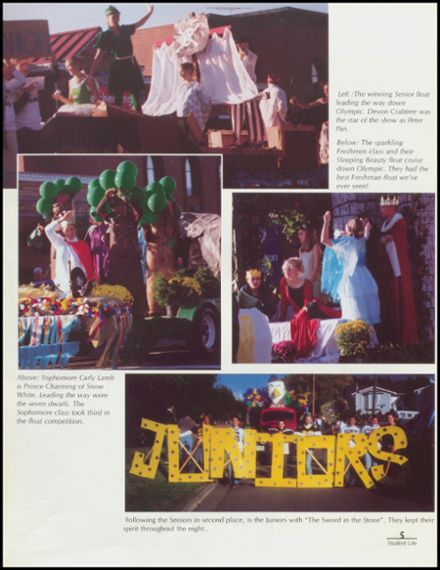 1999 Arlington High School Yearbook Page 9