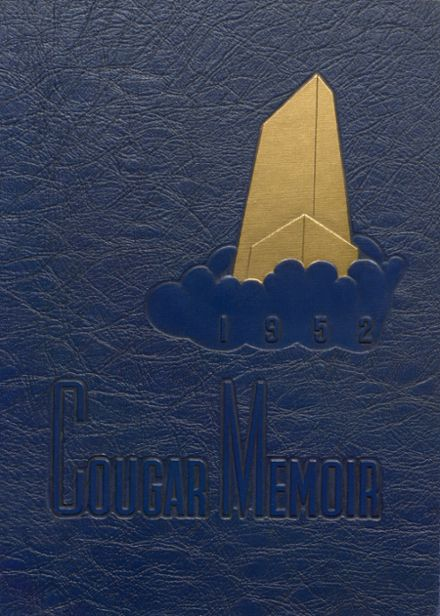 1952 Charleroi High School Yearbook Cover