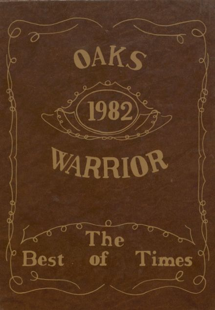 1982 Oaks-Mission High School Yearbook Cover