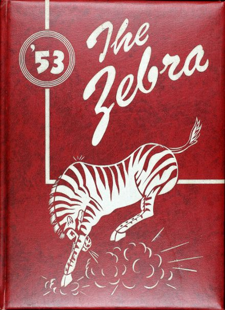 1953 Claremore High School Yearbook Cover