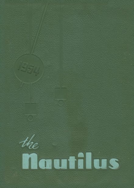 1954 Greenville High School Yearbook Cover