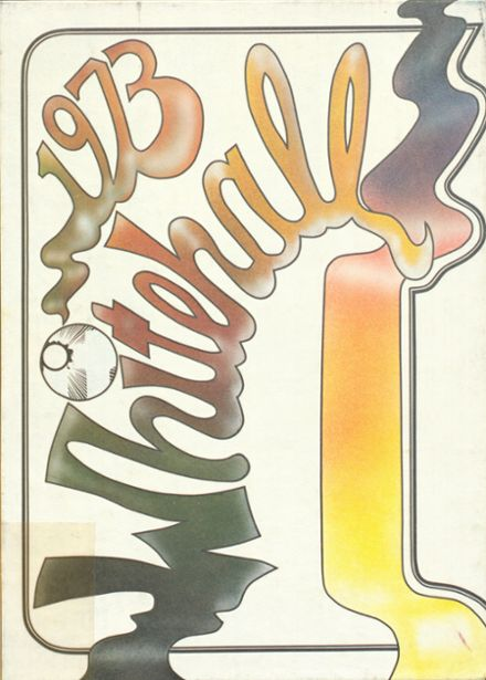 1973 Whitehall High School Yearbook Cover