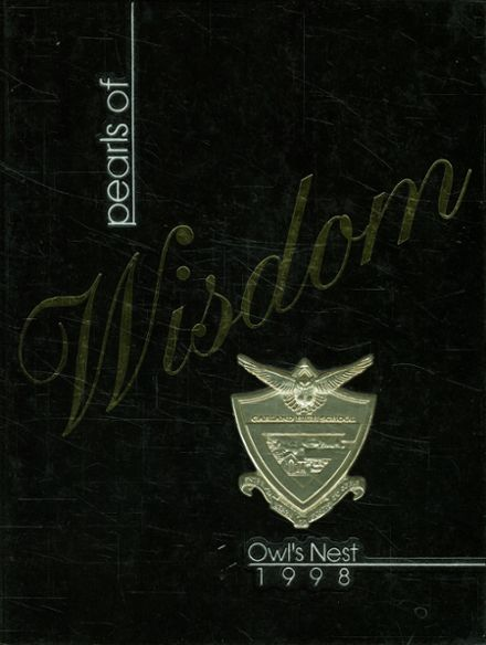 1998 Garland High School Yearbook Cover