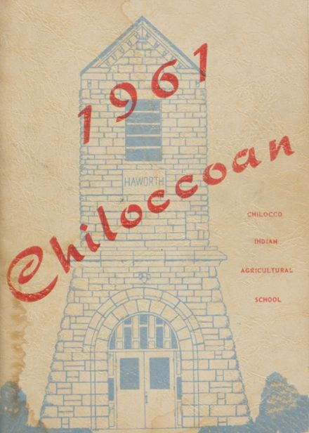 1961 Chilocco Indian School Yearbook Cover